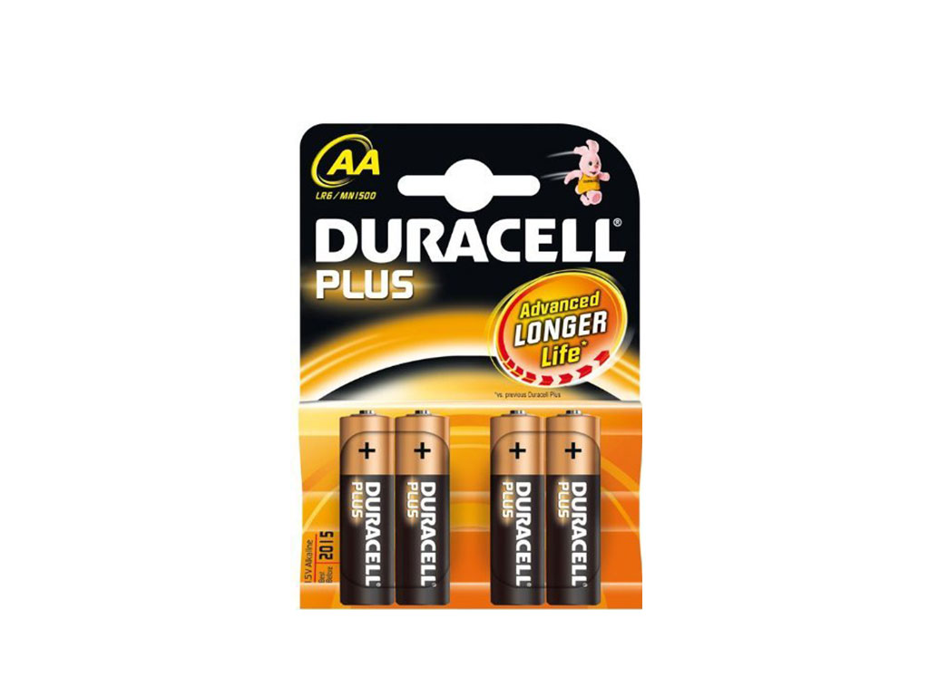 Stilo Duracell Plus 4pz.