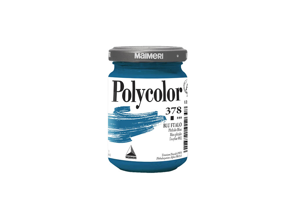 Vasetto Polycolor 140ml. - Blu