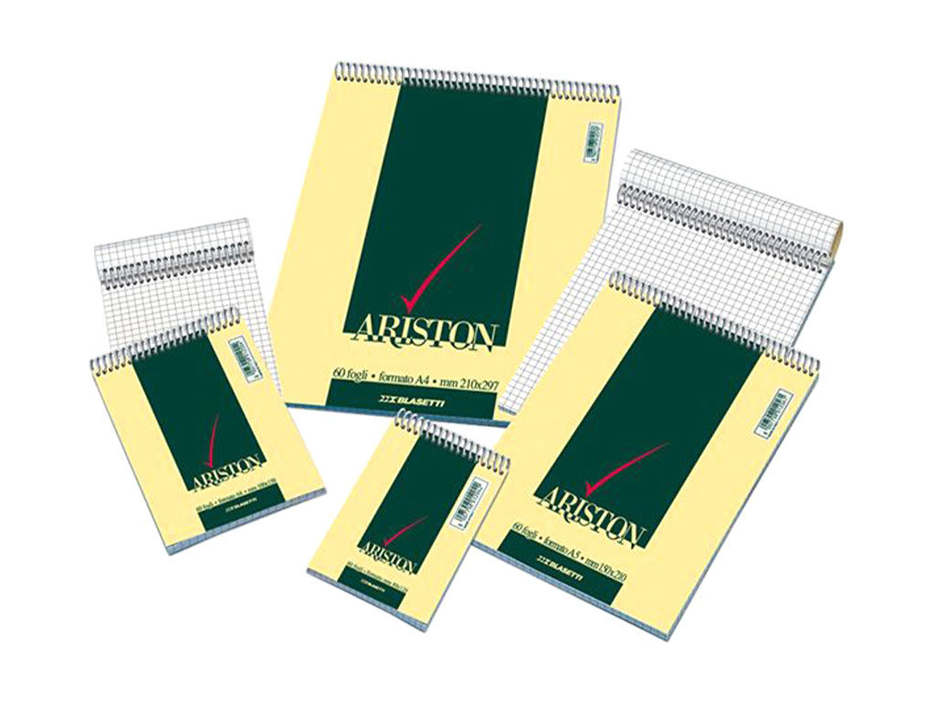 Notes Ariston 15x21 con spirale 5mm.