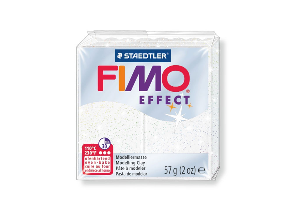 Panetto Fimo Effect 57gr. - Bianco