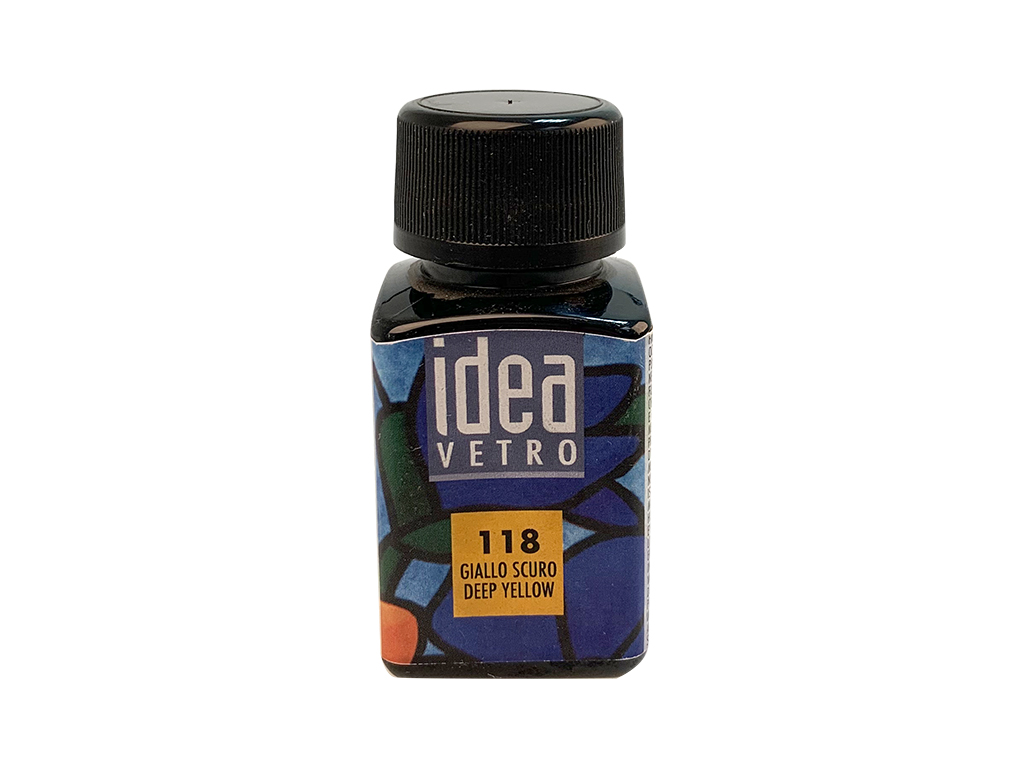 Idea vetro 60 ml. - Giallo scuro