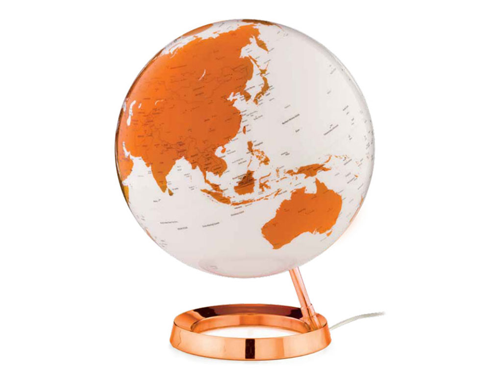 Globo Light&Colour Hot Tangerine 30cm
