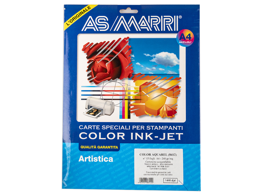 COLOR AQUAREL A4 FG.15 B
