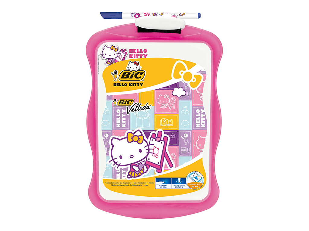 Lavagna Hello Kitty con marcatore + cancellino