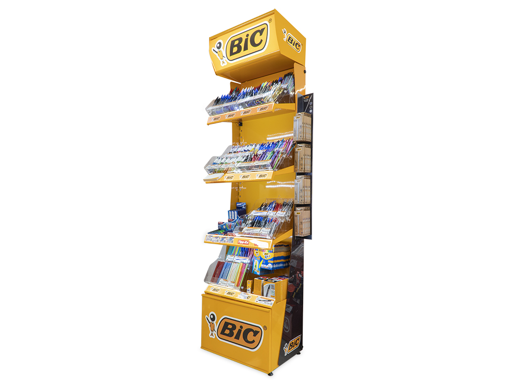 Espositore da terra Bic Boutique