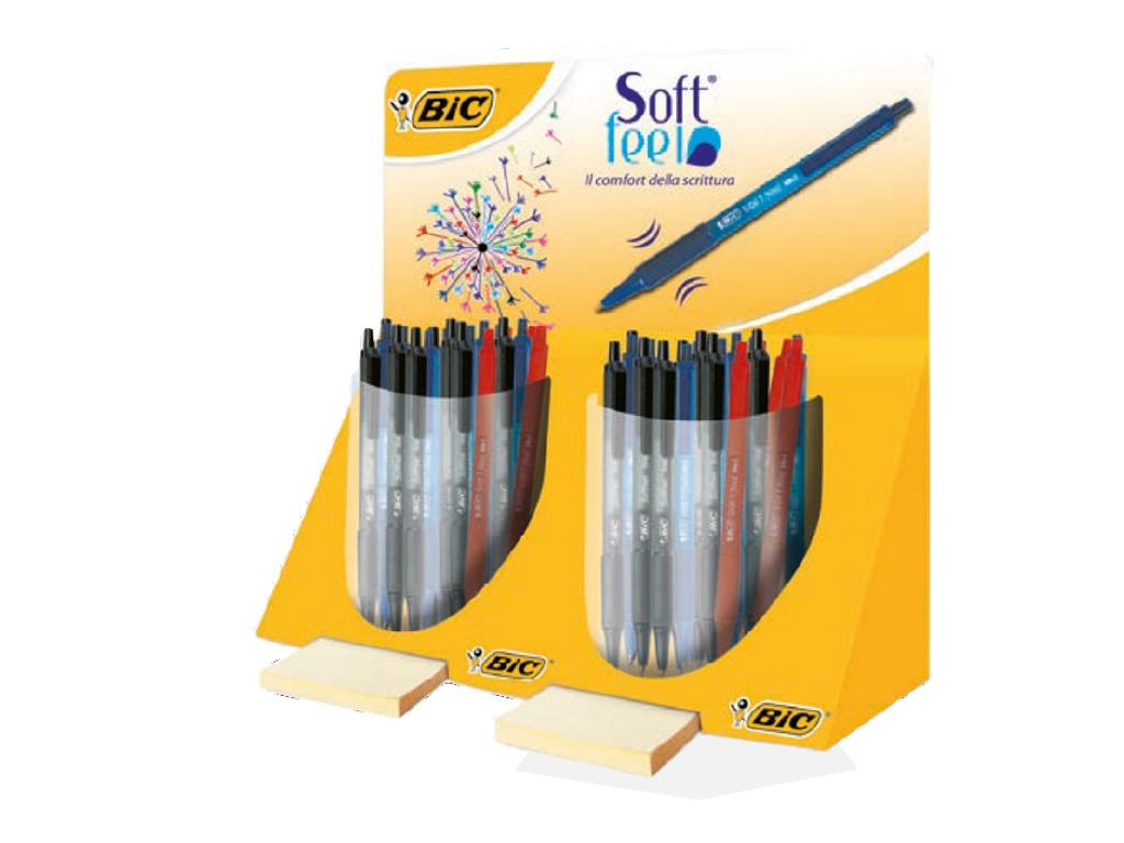 Sfera Soft Feel Clic Grip 48 pezzi assortiti