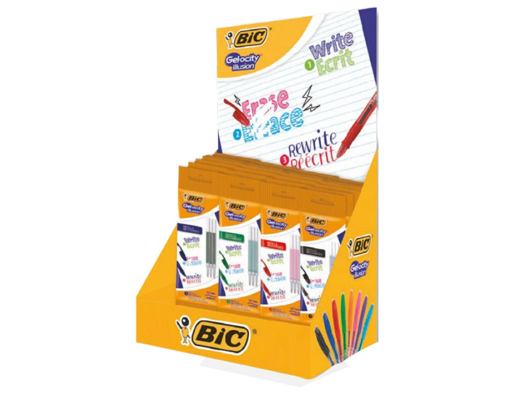 Refill Bic Gel-Ocity Illusion 30 blister 3pz.