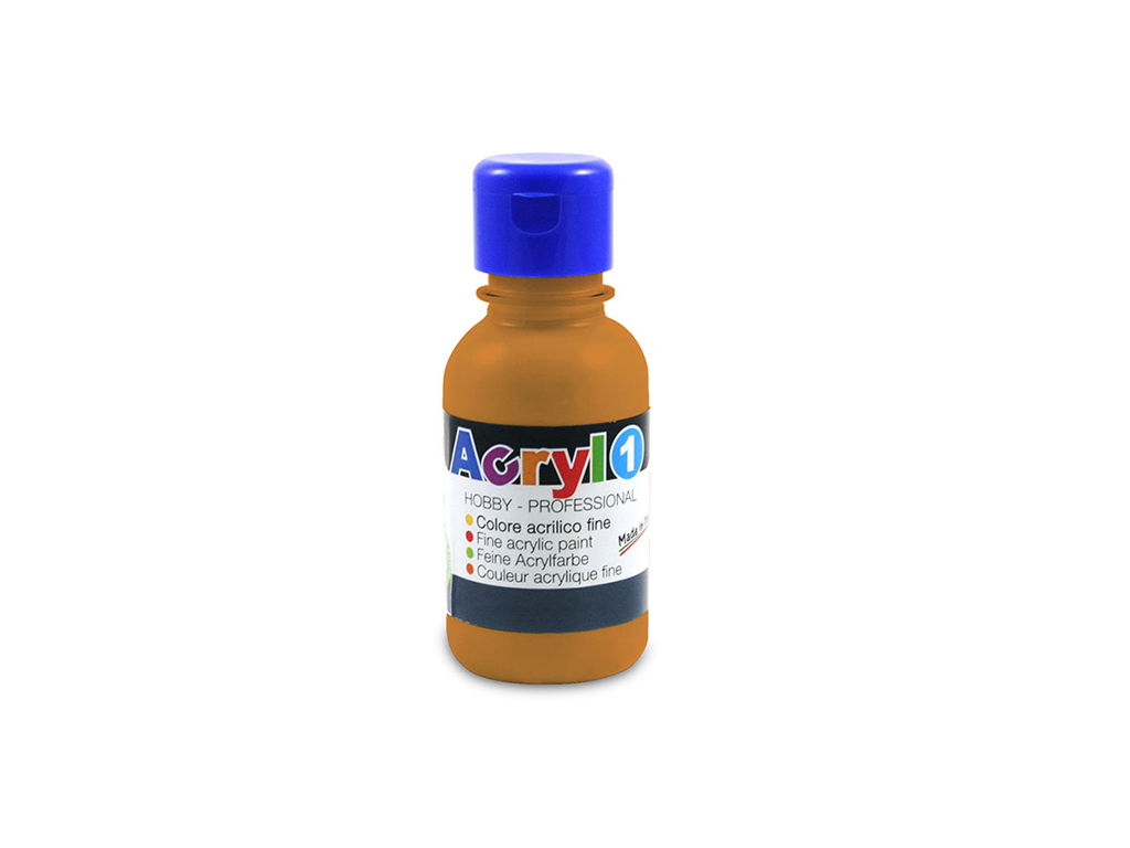 Tempera acrilica 125 ML - Ocra
