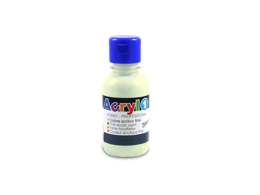 Tempera acrilica 125 ML - Giallo avorio