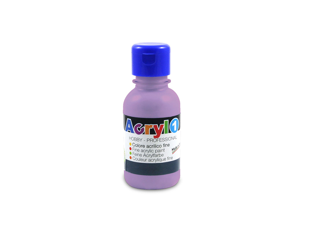 Tempera acrilica 125 ML - Lilla