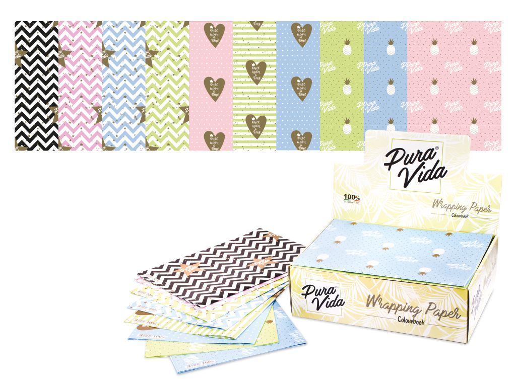 Carta da regalo Linea Pastel - Wrapping Paper