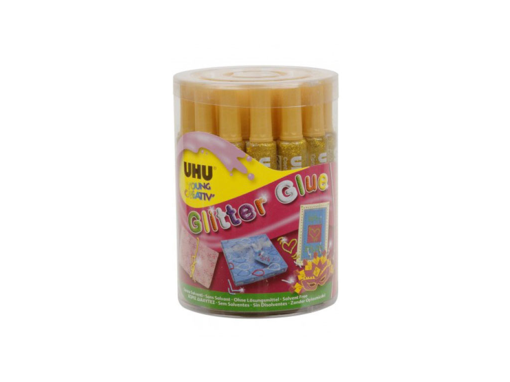 Glitter Glue 20 ml. - Oro