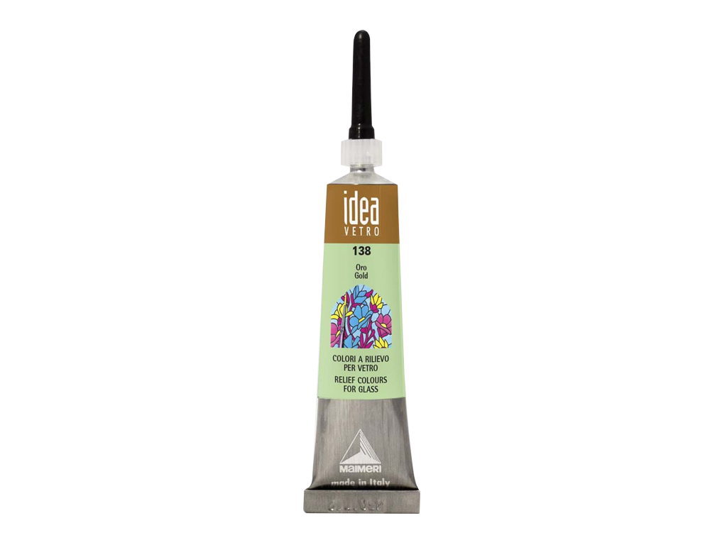 Idea Vetro Rilievo 20ml - Oro