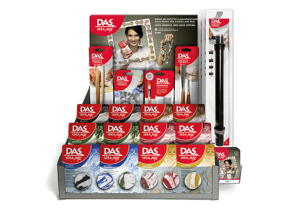 Assortimento completo DAS IDEA MIX 56 pz.