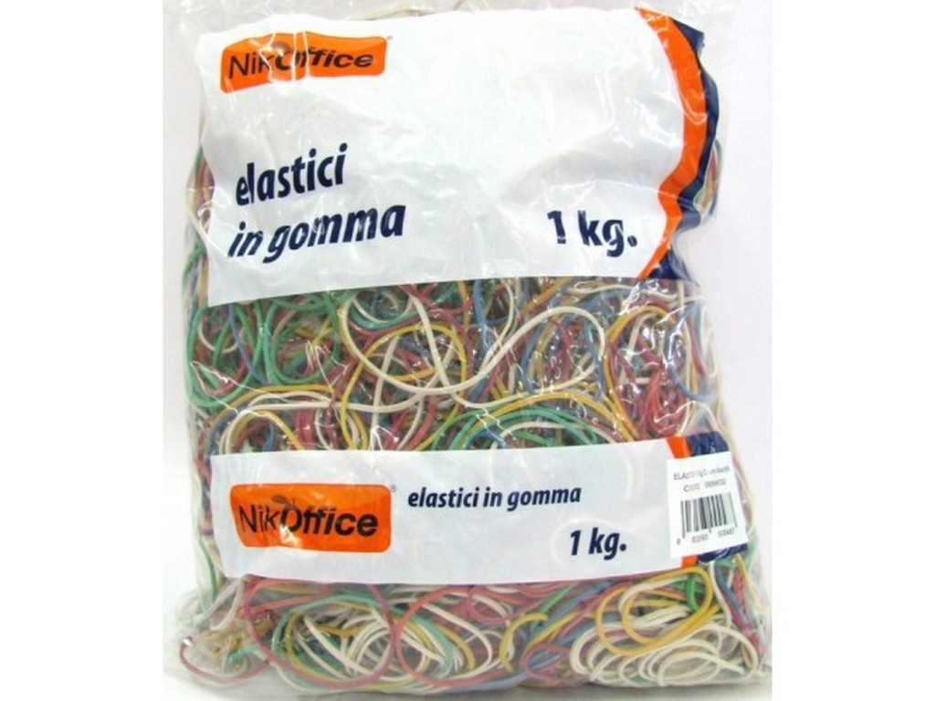 Elastici 1kg. diametro assortito
