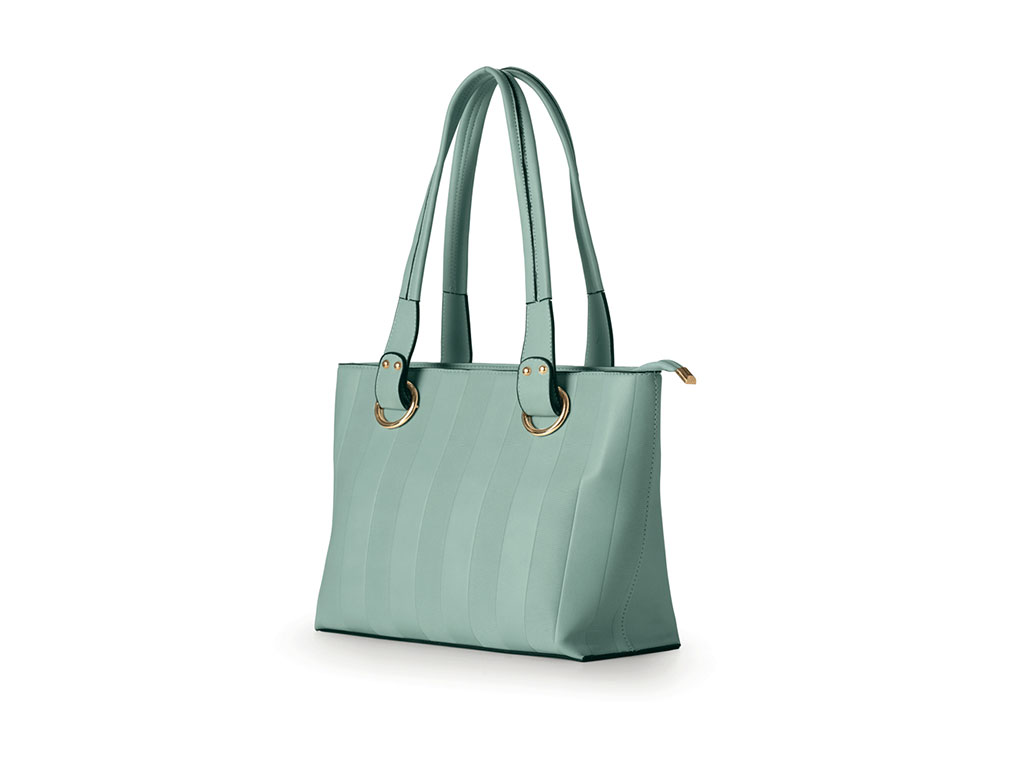 Borsa shopper in eco pelle - Tiffany