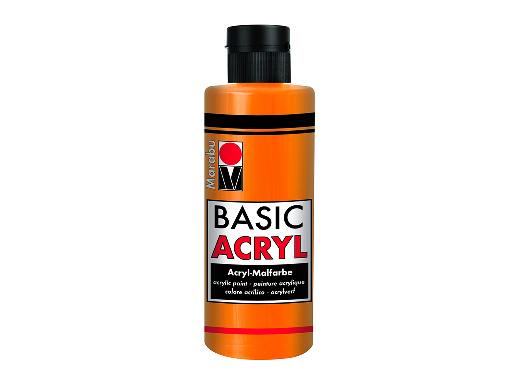 Basic Acryl 80ml. - Arancione