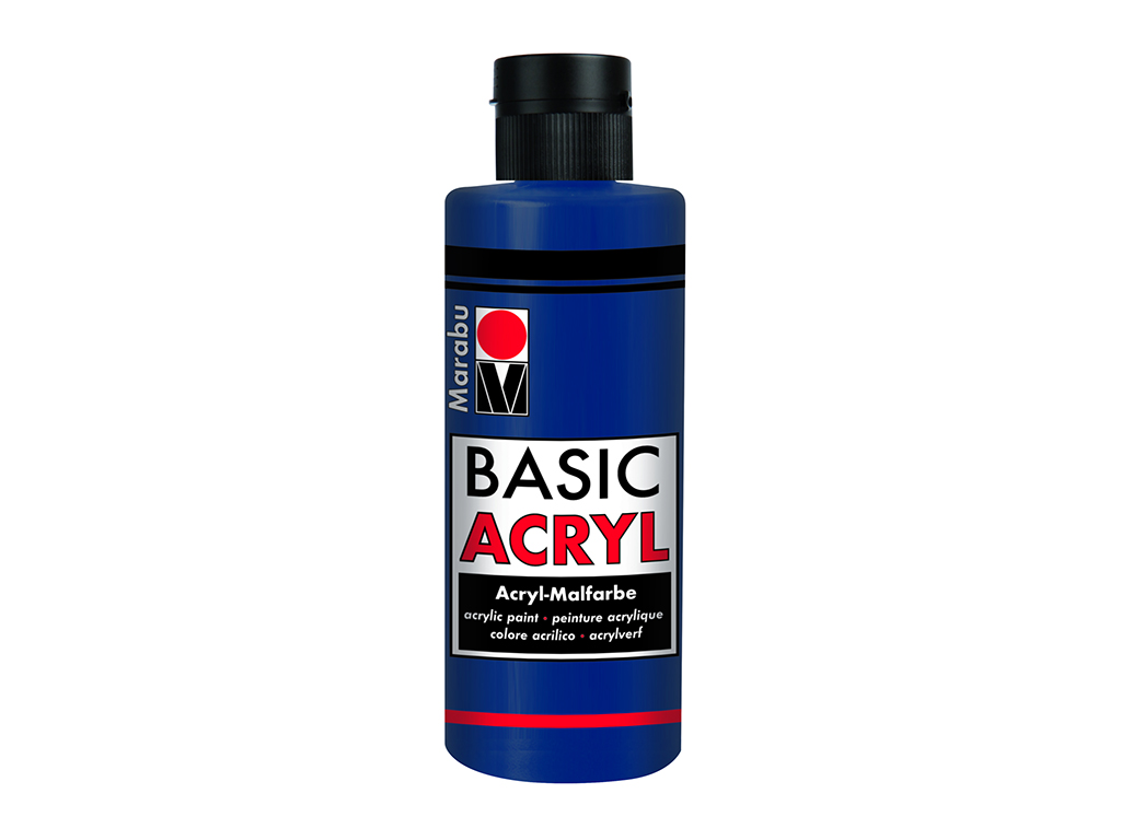 Basic Acryl 80ml. - Blu scuro