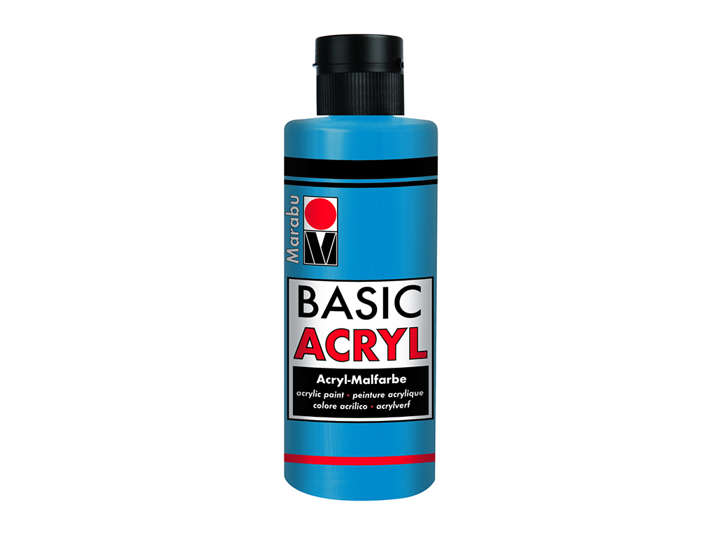 Basic Acryl 80ml. - Blu oltremare