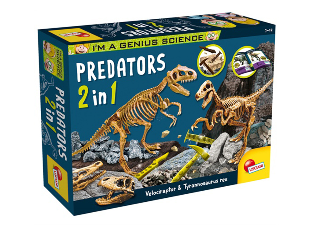 I'm a genius ''Predators''