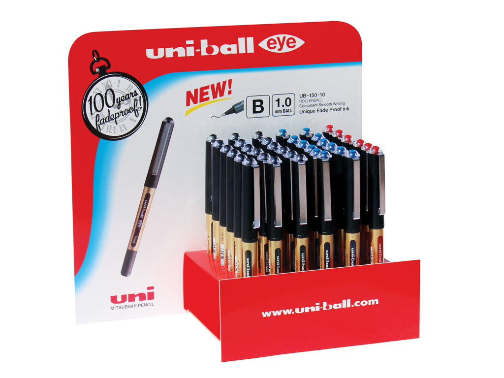 Uni-ball Eye punta fine 36pz. assortiti