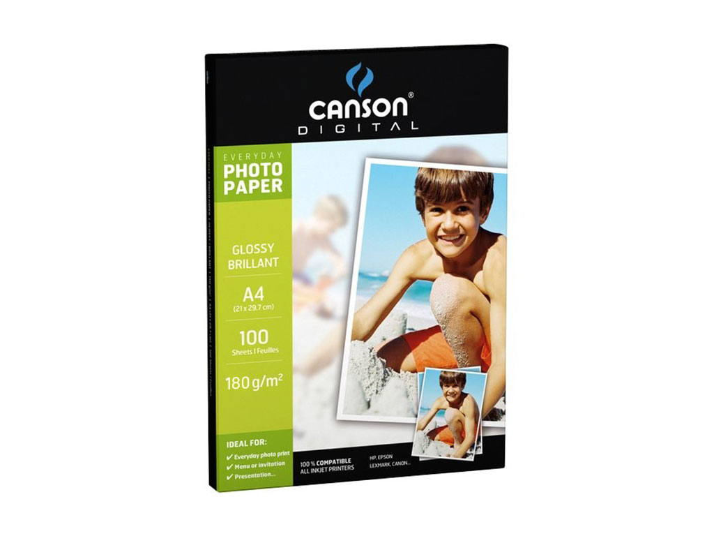 Carta Photo A4 180gr. 100 fogli
