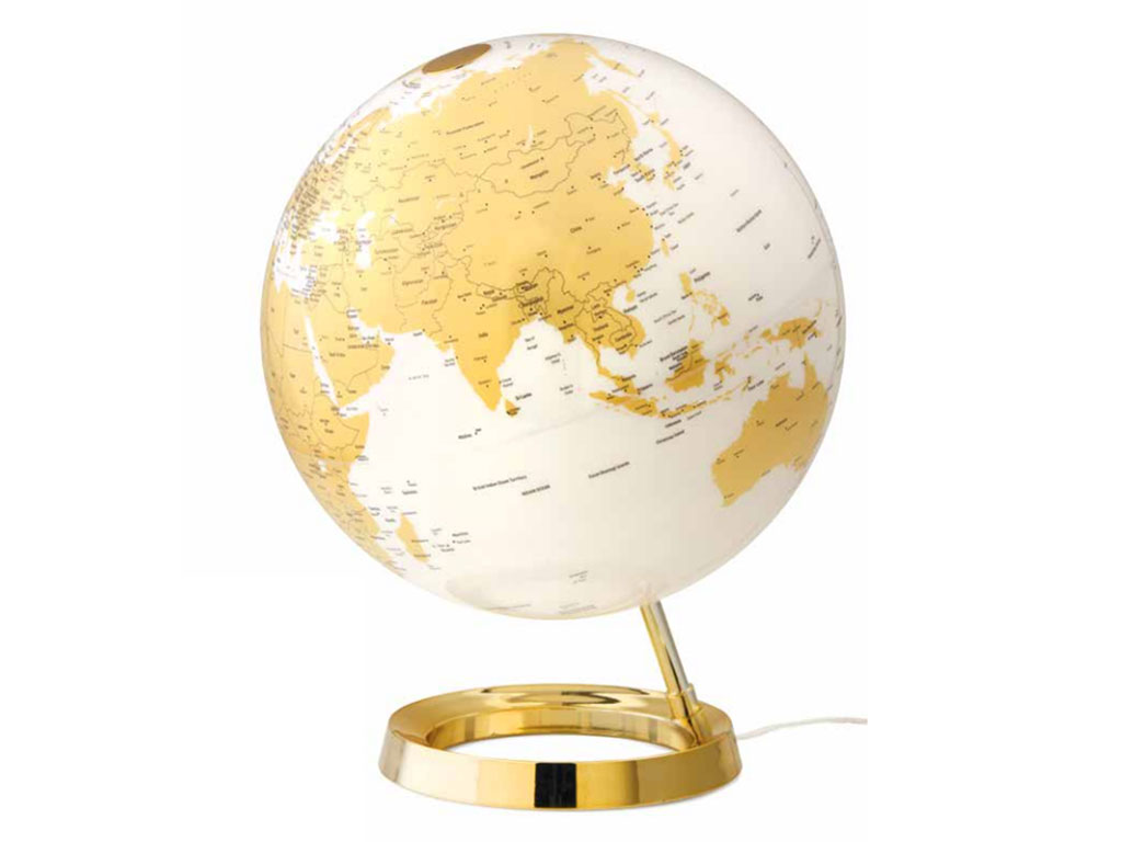 Globo Light&Colour Metal Gold 30cm