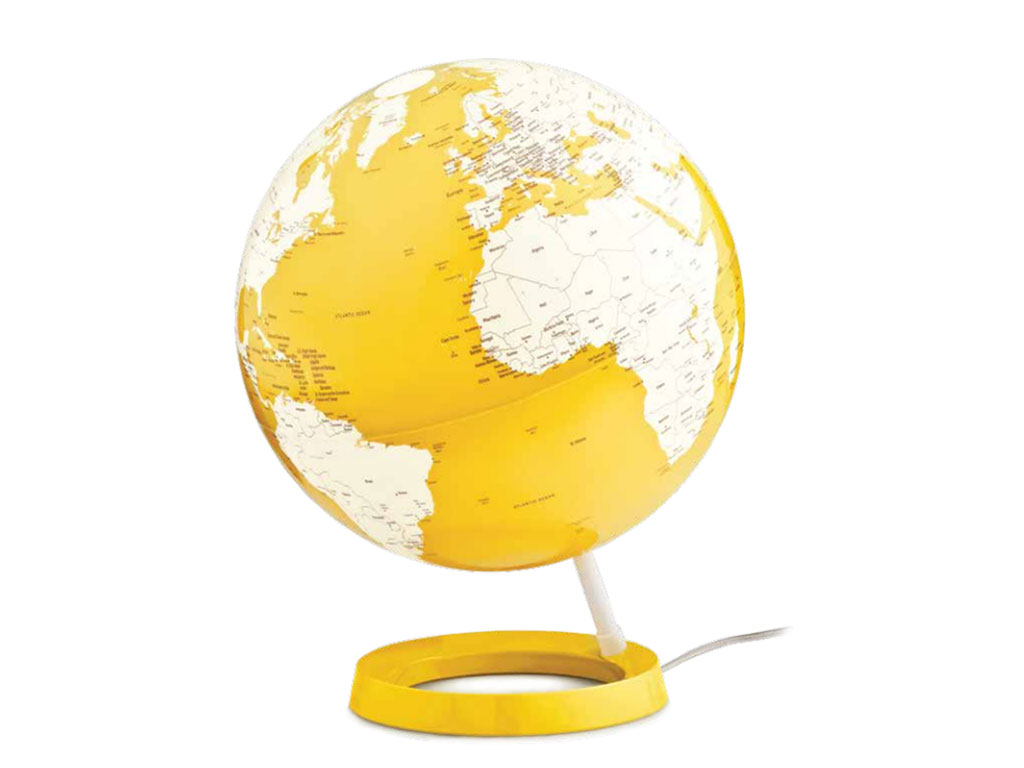 Globo Light&Colour Pastel Yellow 30cm.