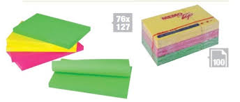 POST-IT 654 GIALLO PZ.18+6 GRATIS