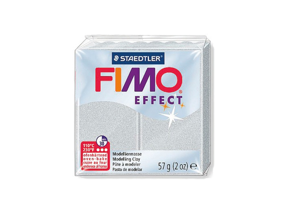 Panetto Fimo Effect 57gr. - Argento