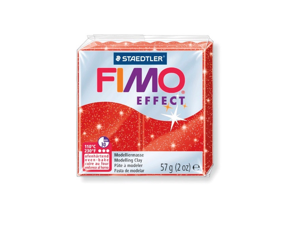 PANETTO FIMO EFFECT GR.57 ROSSO