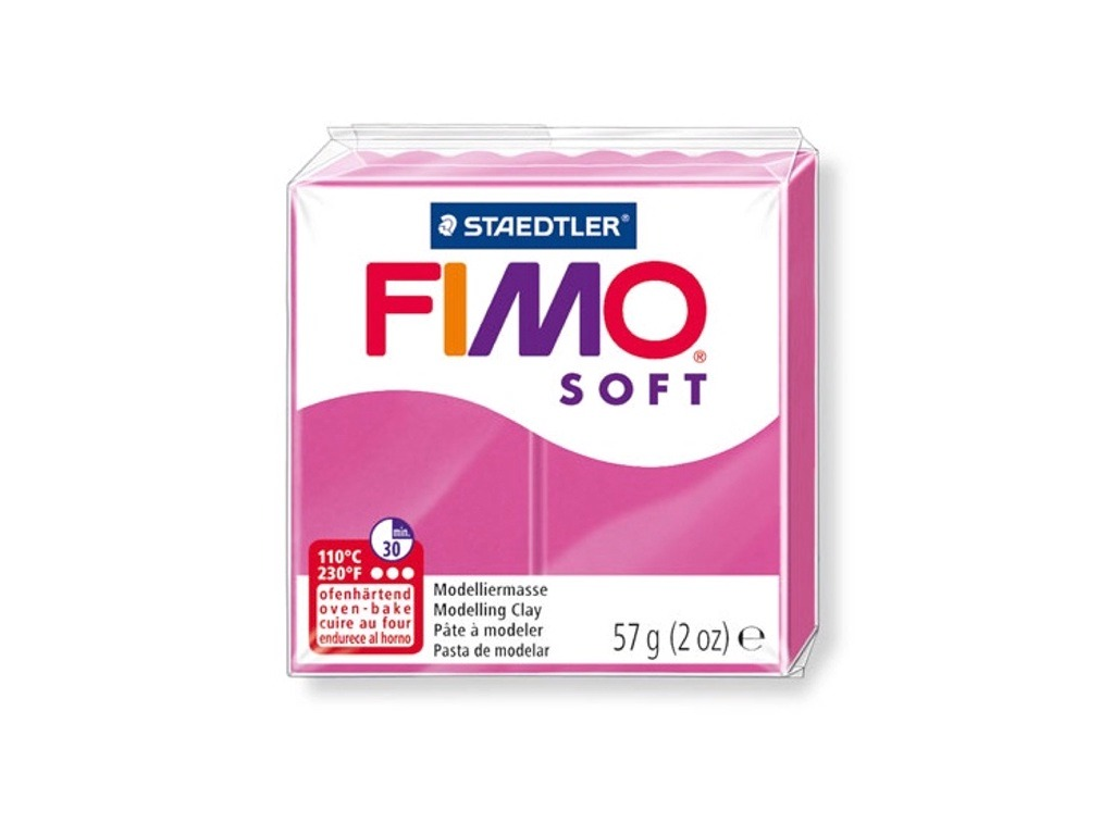 Panetto Fimo Soft 57gr. - Lampone
