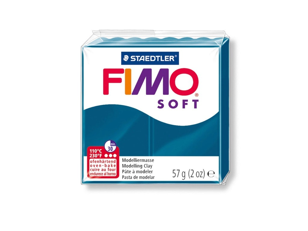 Panetto Fimo Soft 57gr. - Blu calipso