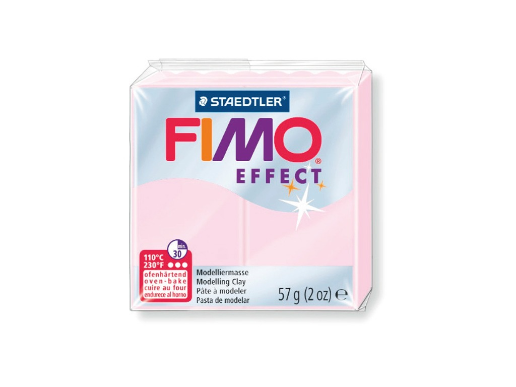 Panetto Fimo Effect 57gr. - Rosa